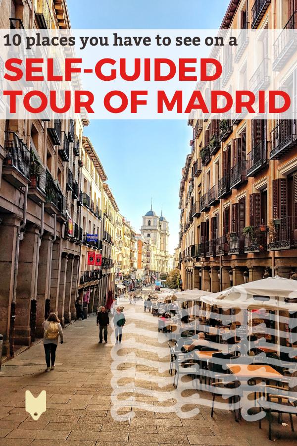 ¡Descubre 10 paradas esenciales en el último recorrido a pie autoguiado de Madrid!
