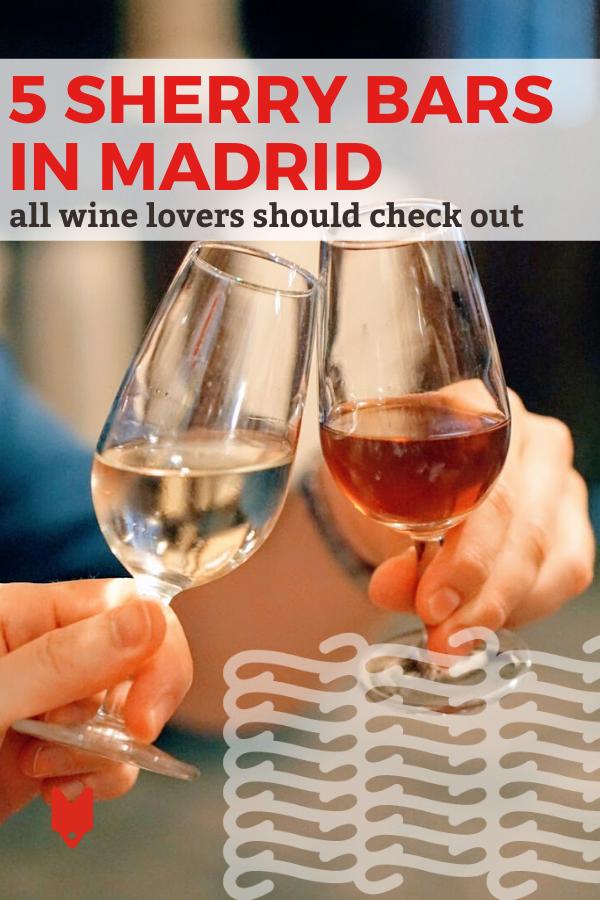 Los mejores bares de jerez en Madrid