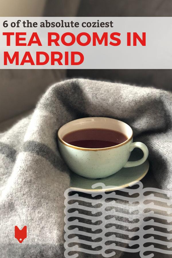 Donde tomar un buen té de la tarde en Madrid