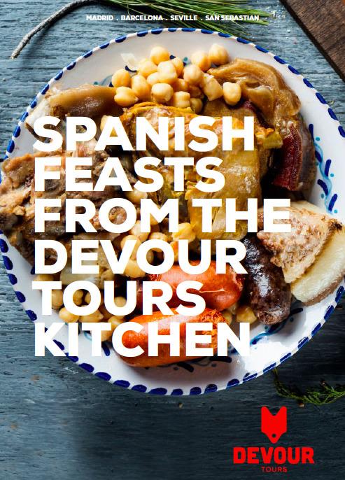 Guía de regalos de España: libro de cocina digital para las fiestas