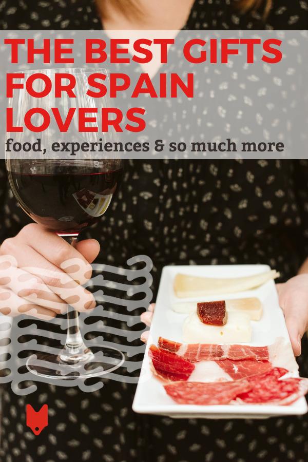 La guía definitiva de regalos navideños para los amantes de España